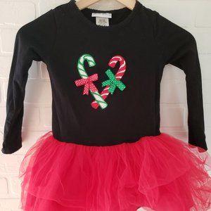 Allison Ann Candy Cane Dress Fits 5-6